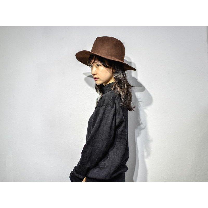 画像3: yotsuba  - Felt Hat [BROWN]