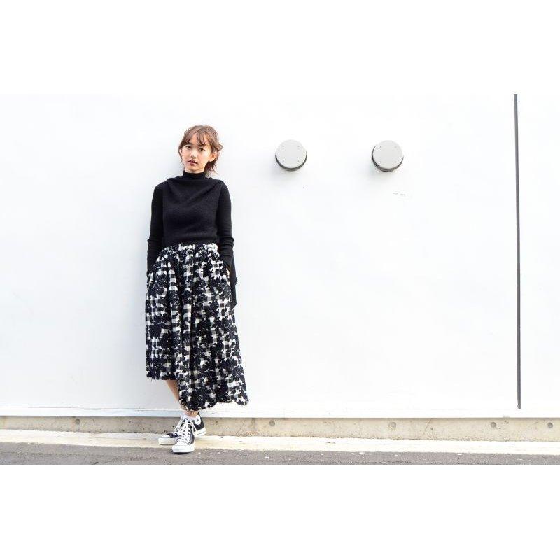 画像2: Yohji Yamamoto + NOIR - Black 変形ノースリーブニットセーター