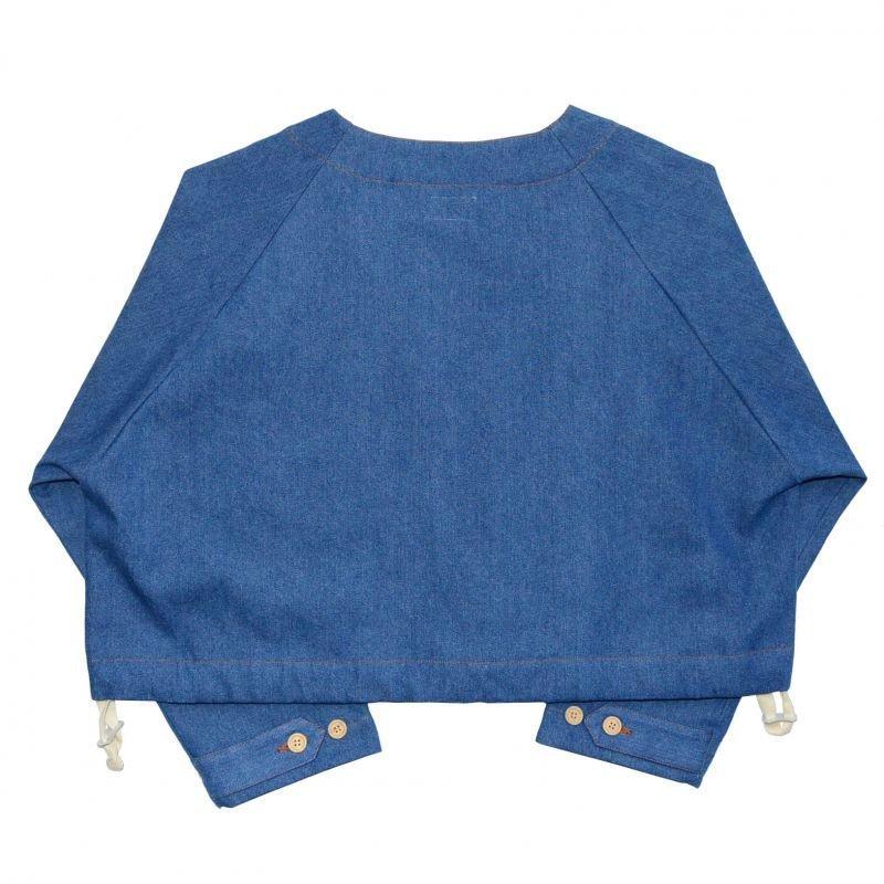 画像2: yotsuba - Nocollar Denim Jacket [Wash]