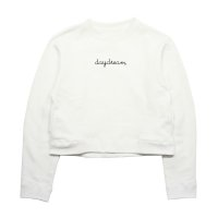 Sumile - Day Dream Short Sweat Tops [White]
