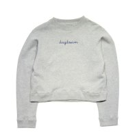 Sumile - Day Dream Short Sweat Tops [Gray]