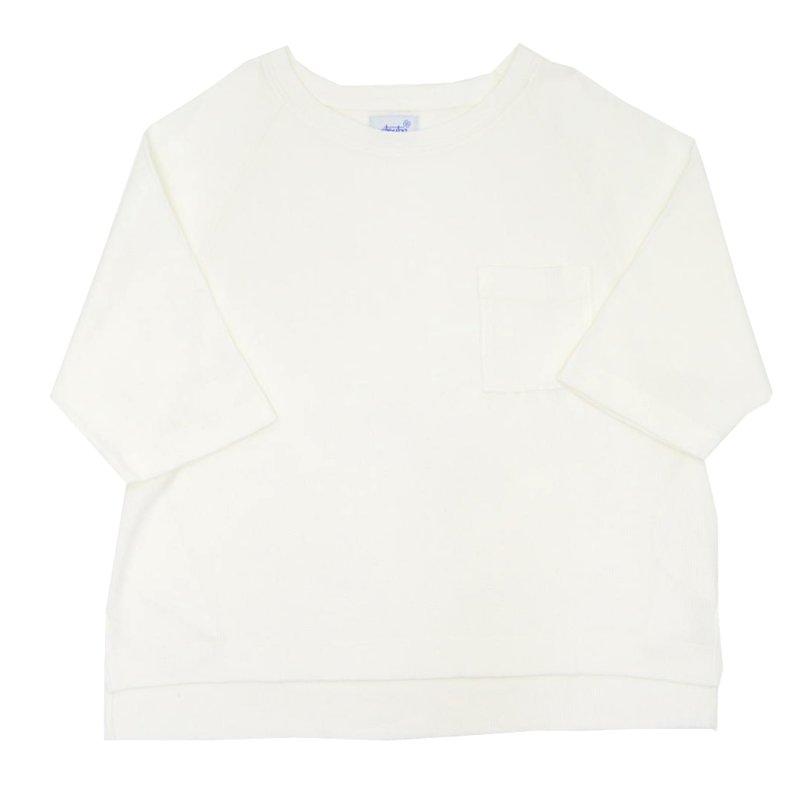 画像1: yotsuba - Raglan Thermal Tops [White]