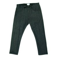 yotsuba - Cropped Denim Pants [Black]
