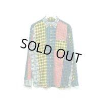 GOODENOUGH - Green クレイジーパターンシャツ