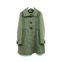 Used - Gray デザインステンカラーコート