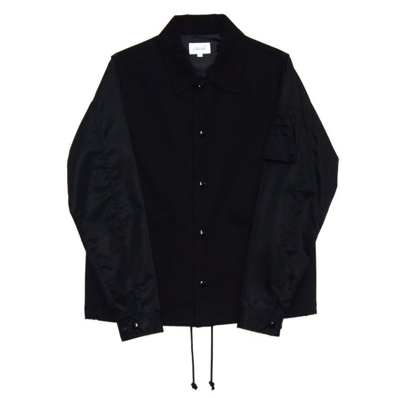 画像1: yotsuba - Switching Coach Jaket [Black]