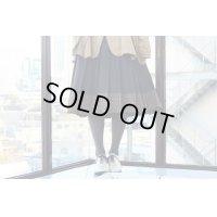 JUNYA WATANABE - Black / Brown チェック柄切り替えスカート