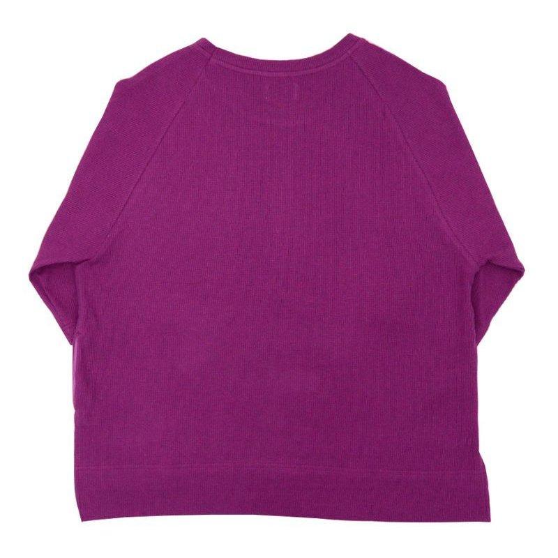 画像2: yotsuba - Raglan Thermal Tops [Purple]