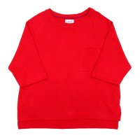 yotsuba - Raglan Thermal Tops [Red]