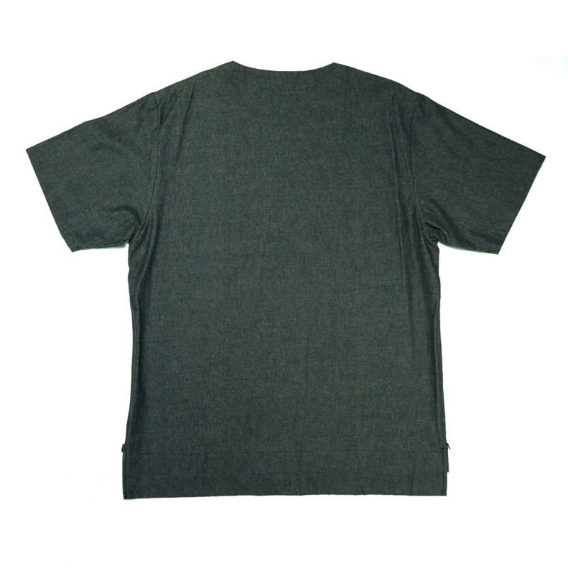 画像2: yotsuba - Shortsleeve Denim Tops [Black]