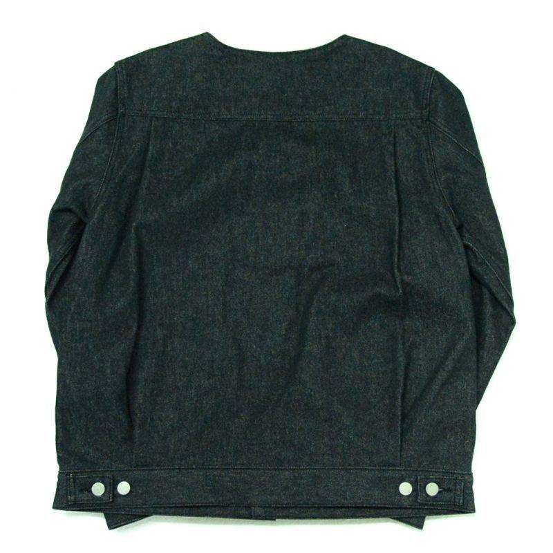 画像2: yotsuba - Nocollar Button Jaket [Black]