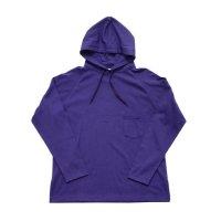 yotsuba - Big Raglan Sleeve Parka [Purple]