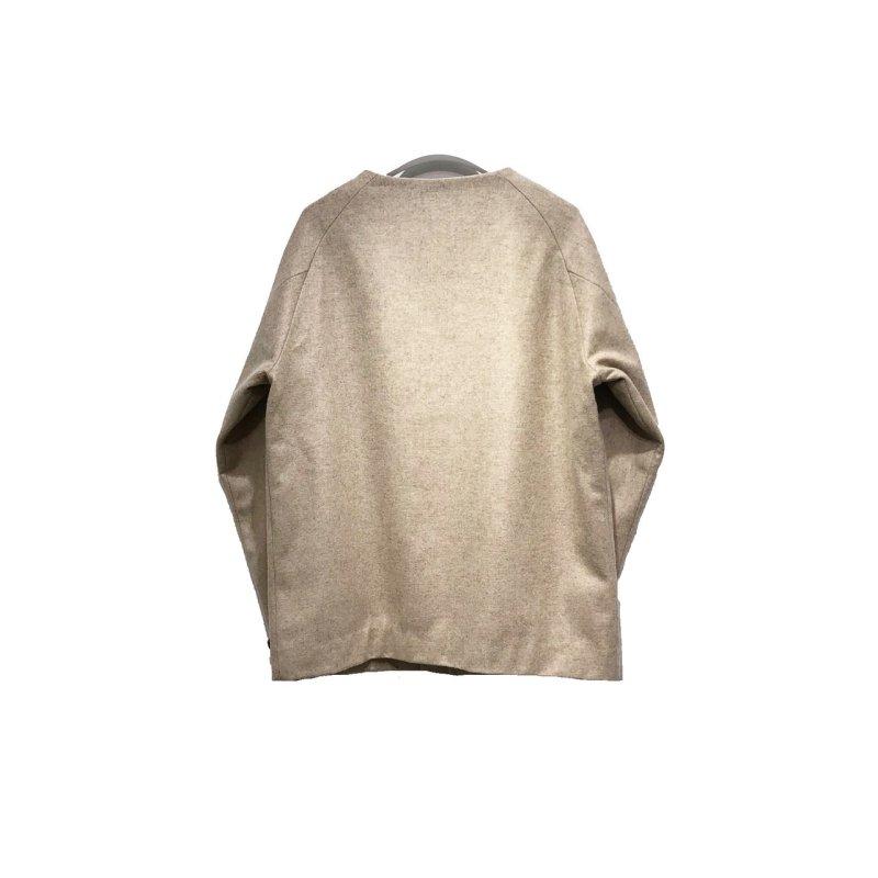 画像2: yotsuba - Nocollar Jacket [BEIGE]