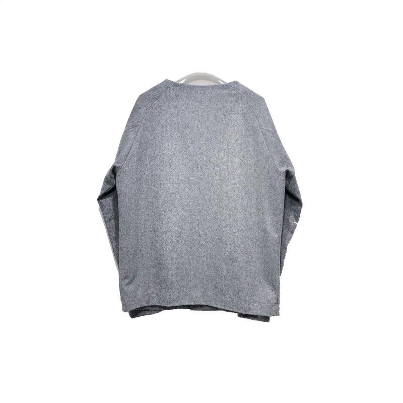 画像2: yotsuba - Nocollar Jacket [GRAY]