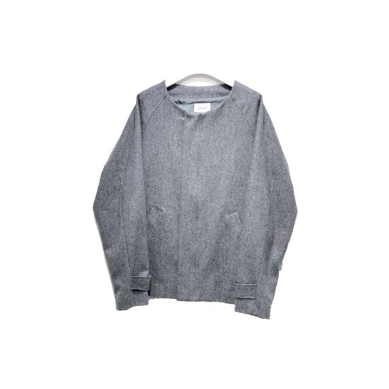 画像1: yotsuba - Nocollar Jacket [GRAY]