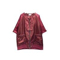 yotsuba -  Souvenir baseball Shirt [Wine Red]